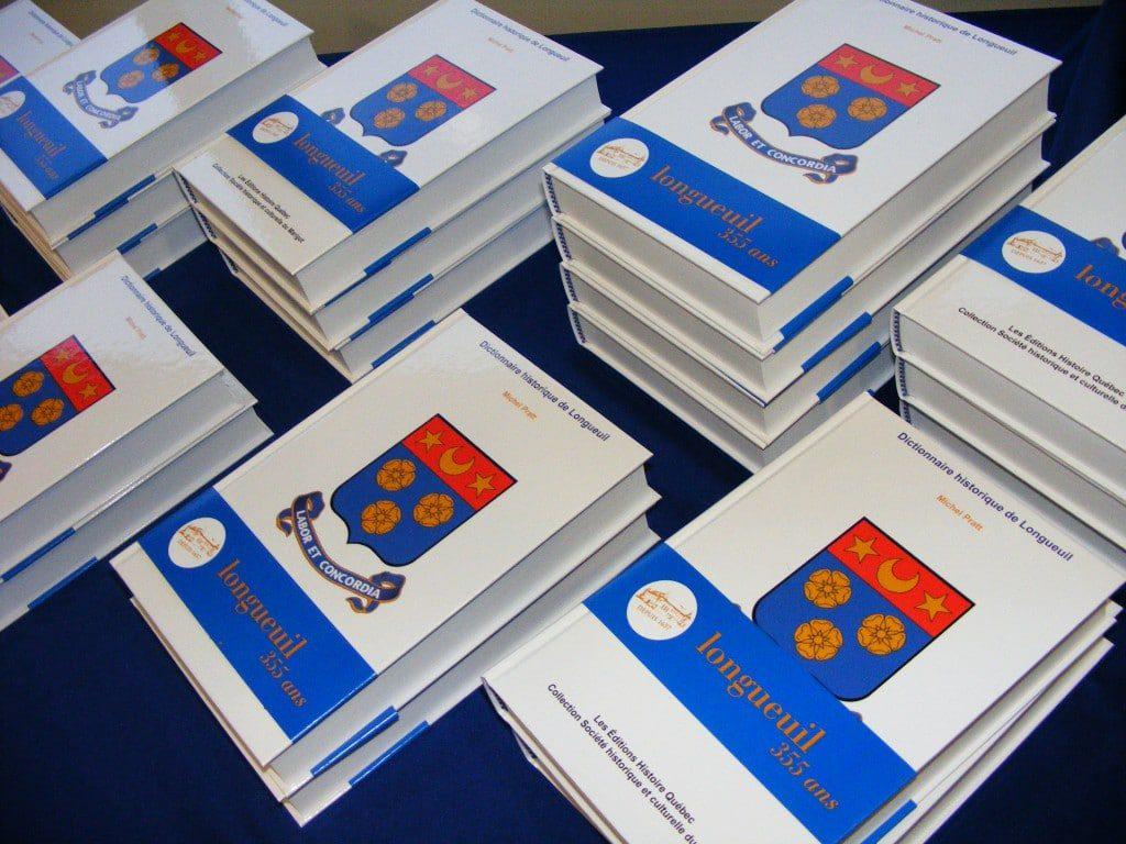 Couverture d'ouvrage: Dictionnaire historique de Longueuil 2018
