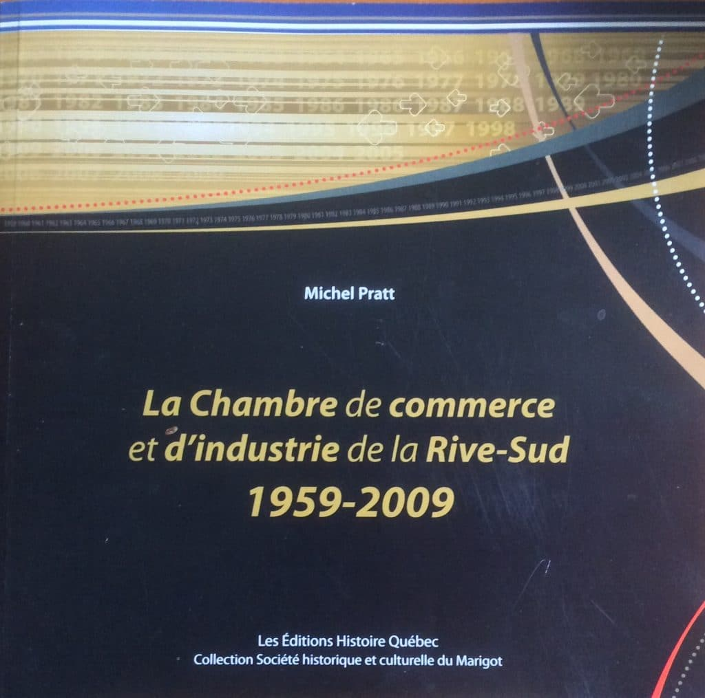 Couverture d'ouvrage: La Chambre de commerce et d'industrie de la Rive-Sud 1959-2009