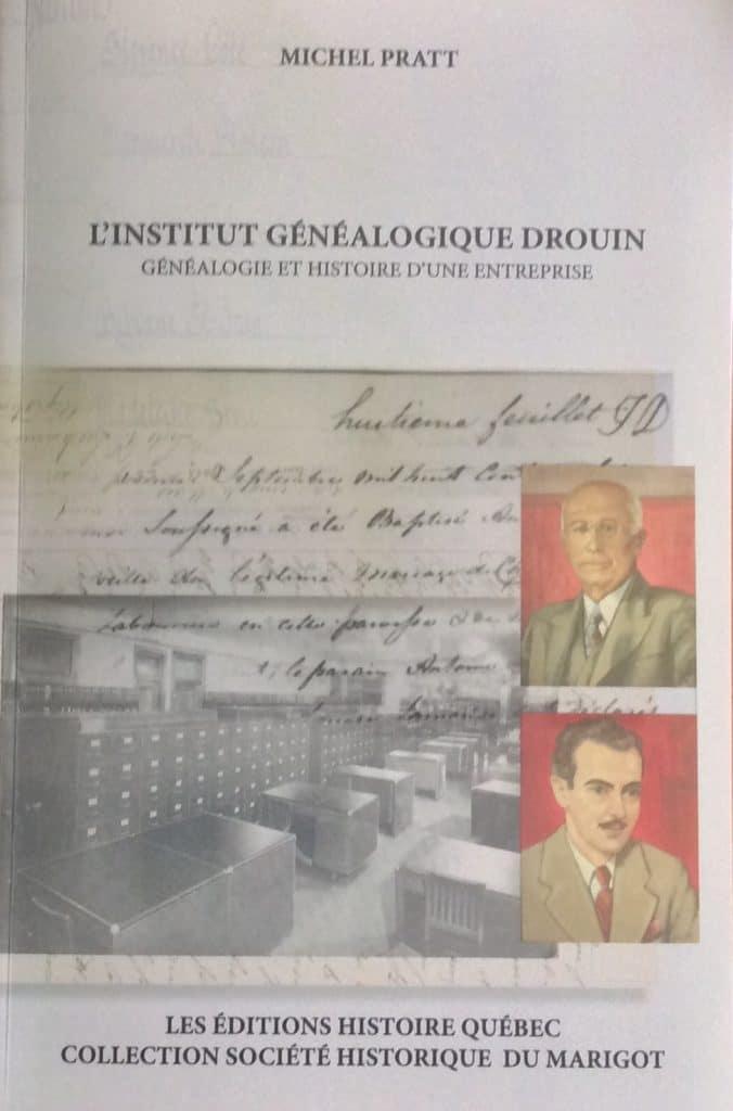 Couverture d'ouvrage: Institut généalogique Drouin