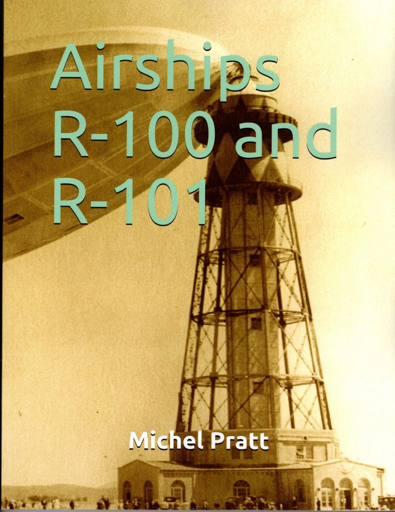 Couverture d'ouvrage : Airships R-100 and R-101